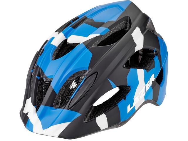 Lazer Nut'Z Helmet Barn matte blue camo
